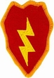 Military Patch: 25th Infantry Division