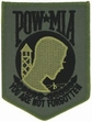 Military Patch: POW/MIA Green