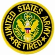 Military Patch: USA Retired