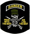 Military Patch: Ranger Mess with the Best