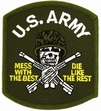 Military Patch: Army Mess with the Best