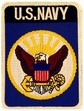 Military Patch: U.S. Navy (Blue)