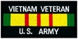 Military Patch: U.S. Army Vietnam Vet