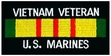 Military Patch: USMC Vietnam Veteran