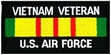 Military Patch: USAF Vietnam Vet
