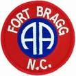 Military Patch: Fort Bragg N.C.
