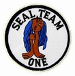 Military Patch: Seal Team 1