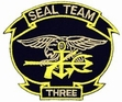Military Patch: Seal Team 3