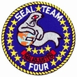 Military Patch: Seal Team 4