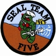 Military Patch: Seal Team 5