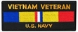 Military Patch: U.S. Navy Vietnam Veteran