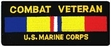 Military Patch: USMC Combat Veteran