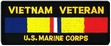 Military Patch: USMC Vietnam Combat Veteran