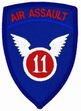 Military Patch: 11th Air Assault