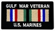 Military Patch: USMC Gulf War Veteran