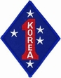 Military Patch: USMC Korea 1st Marine