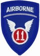 Military Patch: 11th Airborne Division