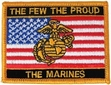 Military Patch: USMC The Few, The Proud