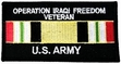 Military Patch: Iraqi Freedom Vet