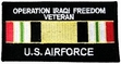 Military Patch: USAF Iraq Veteran