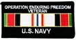 Military Patch: U.S. Navy Afghanistan Veteran