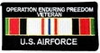 Military Patch: USAF Afghanistan Veteran