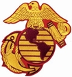 Military Patch: U. S. Marine Corps EGA  Large