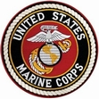 Military Patch: USMC Large