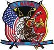 Military Patch: Marines Large