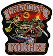Military Patch: Vets Don't Forget  Large