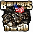 Military Patch: Brothers to the End  Large
