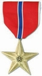 Military Medal: Bronze Star