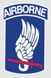 Decals: U.S. Army 173rd Airborne