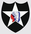 Decals: U.S. Army 2nd Infantry