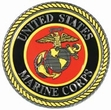 Decals: USMC Emblem Embossed Foil