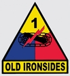 Decals: U.S. Army 1st Armored Div.