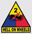 Decals: U.S. Army 2nd Armored Div.