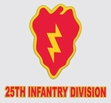 Decals: U.S. Army 25th Infantry Div.