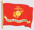 Decals: USMC Red Flag