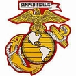 Military Patch: USMC Large EGA