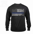 Thin Blue Line Long Sleeve Tee