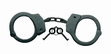 Cuffs: Professional Detective Handcuffs-Black