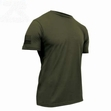 Tactical T-Shirt with Flag-Olive Drab
