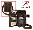 Brown Travel Portfolio Shoulder Bag