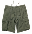 Military Shorts: Vintage Paratrooper Olive Drab
