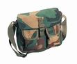 Shoulder Bag: Canvas Ammo Woodland Camo