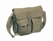 Shoulder Bag: Canvas Ammo Olive Drab