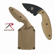 Ka-bar TDI Law Enforcement Knife Coyote Brown