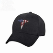 Caduceus (Medical Symbol) Low Profile Cap