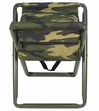 Folding Camp Stool-Woodland